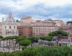 Roma desde el mirador de la Plaza de la República - Foto Mundukos