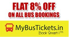 Flat 8% OFF on bus tickets - Great Deal Store