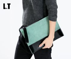 Suede Leather Green Black Oversize Vintage Patch Envelope Clutch | $ 30.44 | Item is FREE Shipping Worldwide! | Damialeon | Check out our website www.damialeon.com for the latest SS17 collections at the lowest prices than the high street | FREE Shipping Worldwide for all items! | Buy one here http://www.damialeon.com/2016-women-clutch-suede-leather-green-black-oversize-vintage-patch-envelope-lady-clutches-bag/ |      #damialeon #latest #trending #fashion #instadaily #dress #sunglasses…