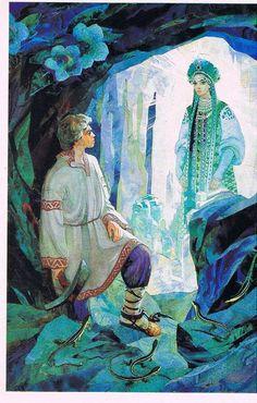 иллюстрации к сказкам бажова - Поиск в Google