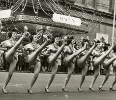 The High Kicking Radio City Music Hall Rockettes  New York 1966