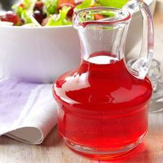 Raspberry Vinegar Recipe -Looking for something tasty to make with fresh raspberries? This dressing adds summer-fresh flavor to salads. —Francy Nightingale, Issaquah, Washington