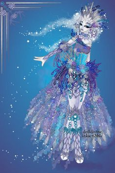 Altice - Irena #icepunk by LadyLeaf ~ Neptune's Daughter Mermaid Dress Up