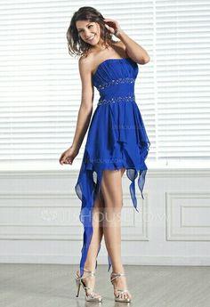 Royal Blue Prom Dress from JJHouse.com