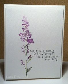 CAS234...Watercolour by HamiltonGal - Cards and Paper Crafts at Splitcoaststampers