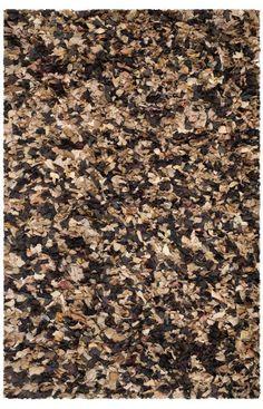 Safavieh Shag SG951 Brown Multi Rug | Shag & Flokati Rugs #RugsUSA