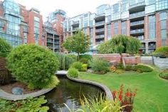 Modern condo located in James Bay with green space. Inquire how this could become your home today! Modern Condo, Victoria, Mansions, Lifestyle, Space, House Styles, City, Green, Home Decor