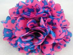 3pc Big18 Petal Blue Leopard Flowers Wedding Appliques DIY * Check this awesome product by going to the link at the image.