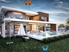 1. kat planı modern evler ante mi̇marlik modern | homify Ante mi̇marlik  – 1. kat planı:  tarz evler | homify<br> Burada, iç mimari konulu farklı fotoğraflar bulabilirsiniz. İlham almak için bire bir! Kylie Jenner, Bunk Beds Built In, Chalet Design, Backyard Studio, Mountain Modern, House Doors, Family Room Design, Prefab Homes, Verona