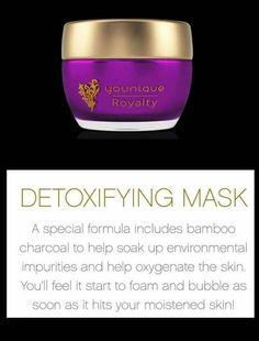#detoxifyingmask #Younique #SafeSexySkin #Royalty