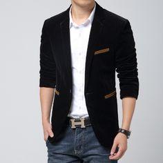 jas blazer korea pria slimfit modern