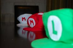 This is the Super Mario Hat pattern I used for Hallowe'en. I love her blog.