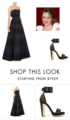 """American Ballet Theater 2016 Fall Gala"" by rachel2494 ❤ liked on Polyvore featuring Carolina Herrera and Alexander McQueen"