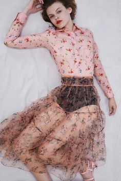 Jill Stuart Resort 2018 Fashion Show Collection #fashion #lingerie #underwear #outerwear