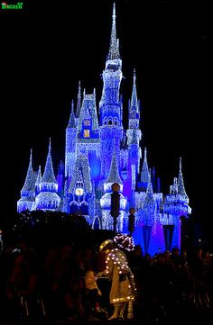 Cinderella Castle Christmas, Magic Kingdom at the Walt Disney World Resort
