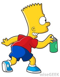 Bart Simpson has got to be my most favorite character ever!