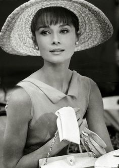 I believe in kissing. Kissing a lot. Audrey Hepburn (1929-1993).