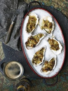 Oysters rockefeller   Jamie Oliver