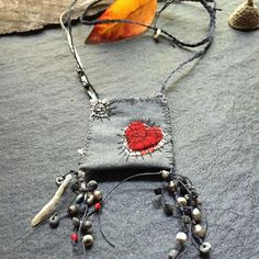 fragile strength talisman open heart by mairedodd on Etsy