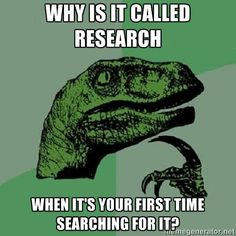 My career. Research, not dinosaurs.