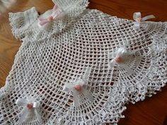 Cómo tejer un vestido para bautismo / Tutorial crochet | Crochet y Dos agujas