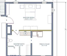 Master bedroom floor plan with the entrance straight into for Laundry room addition floor plans