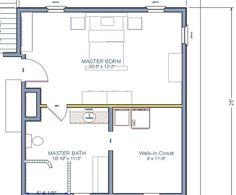 Master Suite 20x20 Master Bedroom Plans Novocom Top