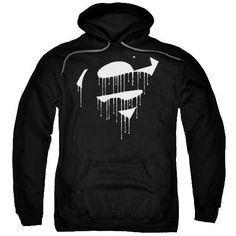 Dripping Shield Superman Hoodie