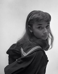 "Audrey Hepburn for ""Gigi"", 1952"
