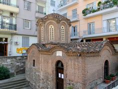 UNESCO Monuments Route Thessaloniki is an open Museum of Early Christian and Byzantine Art. In 1988 the UNESCO declared World Heritage Sites 15 of the. Byzantine Art, Early Christian, Thessaloniki, World Heritage Sites, Explore, Mansions, History, House Styles, City