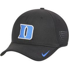 ed56086a9dd Duke Blue Devils Nike Youth Sideline Coaches Performance Adjustable Hat -  Black