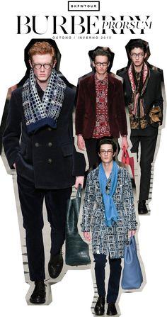 Hi, Buddies, Um dos desfiles mais aguardados da temporada de moda masculina, sem dúvidas, é o da Burberry Prorsum. Mas, antes de falar um pouco dele, uma curiosidade, vocês