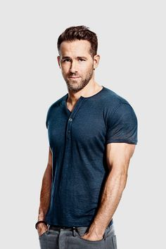 """gamora: """" Ryan Reynolds photographed by Ture Lillegraven for Men's Health, March 2016 """""""