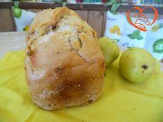 Pane bianco con pancetta
