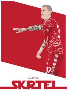 Martin Skrtel. Forever <3