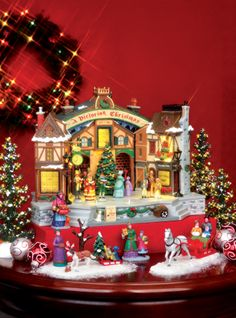 shown here is the lemax a christmas carol play this is a new - Lemax Christmas Village