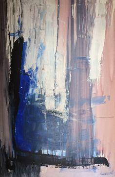 Acryl på lærred, 100 x 150 cm
