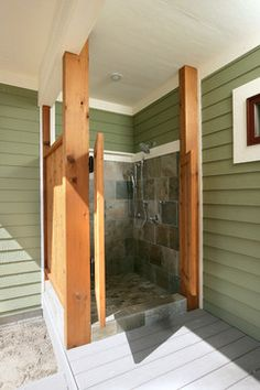 Northport Timberframe - traditional - Patio - Grand Rapids - Francesca Owings Interior Design