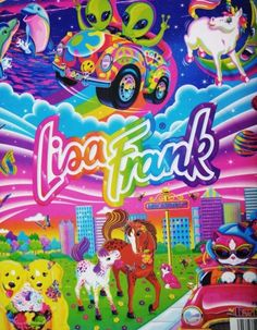 I was the BIGGEST Lisa frank fan....still am !!! follow me on Instagram:) ❤❤❤❤ @kayeebee26 @ 0mq_meow