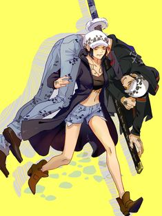 One Piece || Trafalgar D. Water Law || Genderbend