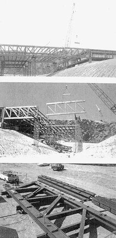Estimulante superestructura que salva un valle a la vez que aloja el ArtCenter College of Design en Pasadena (1976) obra de la firma Craig Ellwood (Jon Nelson Burke). ¿quieres más imagenes y coment…