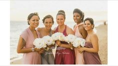 Stunning @goddessbynature bridesmaids all wearing it different ways in gorgeous shades of pinks, purple & silver.