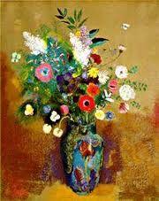 Bouquet of Flowers ~ Odilon Redon Odilon Redon, Container Flowers, Arte Floral, Objet D'art, Love Art, Flower Vases, Painting & Drawing, Art Photography, Sculpture