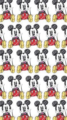 ミッキーマウス/Mickey Mouse[04]iPhone壁紙 iPhone 7/7 PLUS/6/6PLUS/6S/ 6S PLUS/SE Wallpaper Background