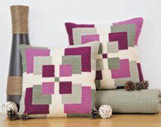 Symmetry Cushion Front Chunky Cross Stitch Kit