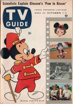 """""""The Mickey Mouse Club""""  October 1-7 1955"""
