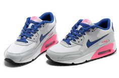 new product 7968c c11d8 air max 90 classic women white blue,nike air ladies,womens nike .