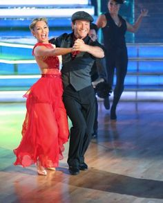 Kym Johnson Dancing with the Stars Robert Herjavec | Dancing With The Stars Recap: Spring Break Brings A Heart Breaking ...