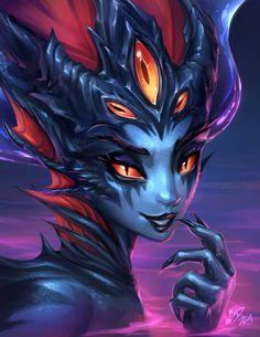 Azshara by imdrunkonTea on DeviantArt Fantasy Women, Dark Fantasy Art, Fantasy Girl, Fantasy Artwork, Fantasy Character Design, Character Inspiration, Character Art, Warcraft Art, World Of Warcraft