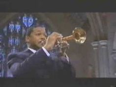 """Wynton Marsalis performing the third movement (finale-allegro) of Haydn's """"Trumpet Concerto in E flat major""""."""